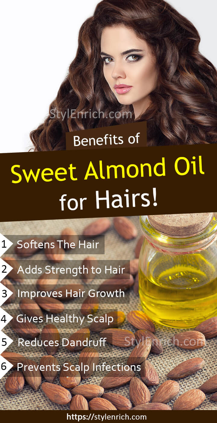 How to Use Sweet Almond Oil for Hair Growth?