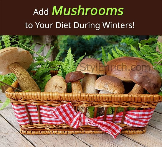 Add Mushrooms to Your Diet During Winters