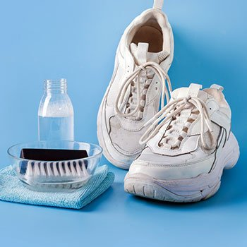 Tips to Clean Dirty White Shoes
