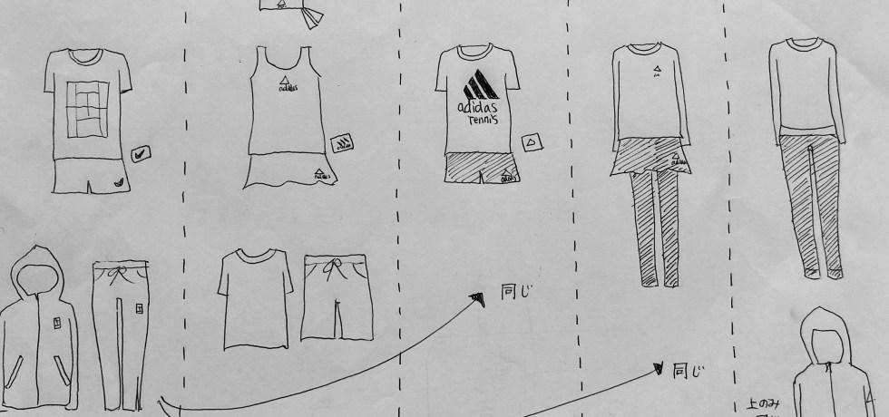 japanese tennis fan must have apparel