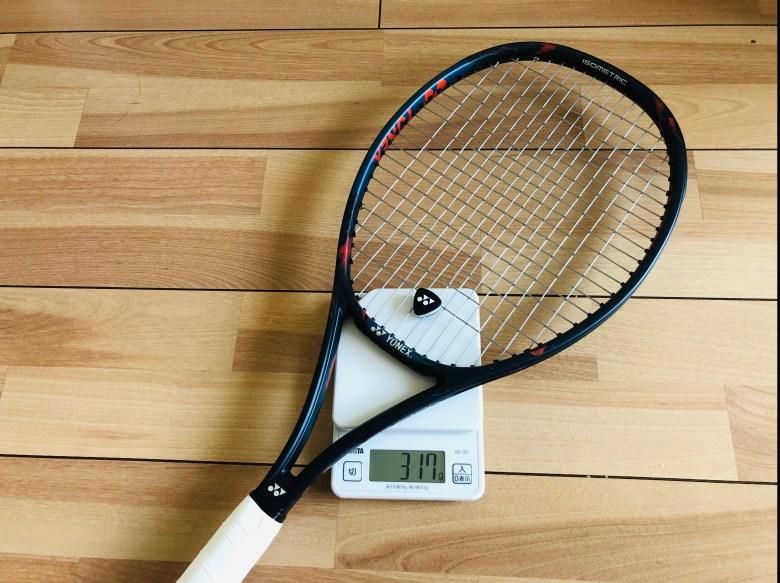 vcore pro lg lighter racket