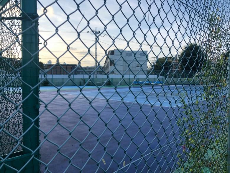 tennis court tsurumaki setagaya hard
