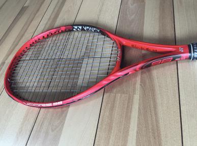 style of tennis yonex vcore 98 3