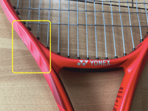 style of tennis yonex vcore 98 5