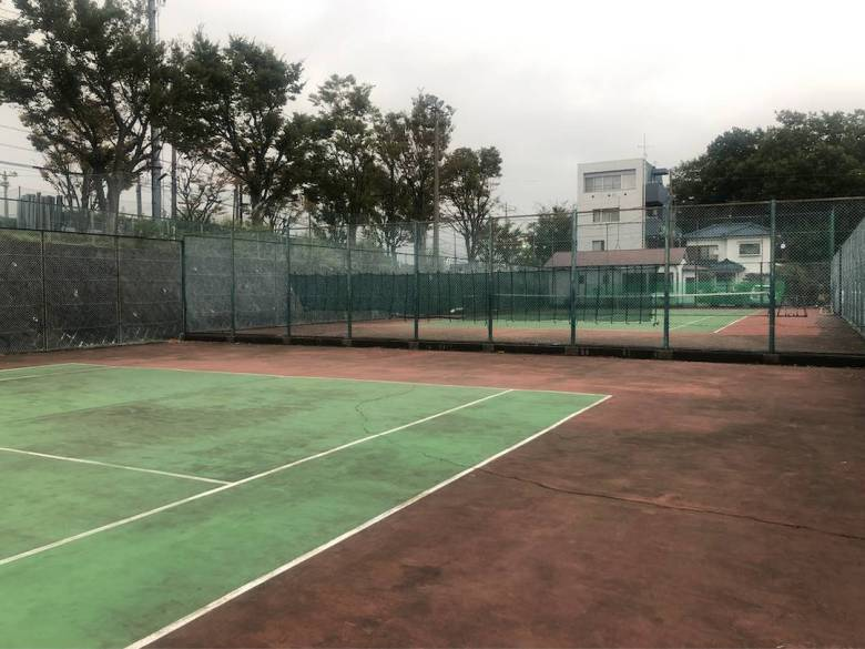 style of tennis hard court oyamada tennis garden 1