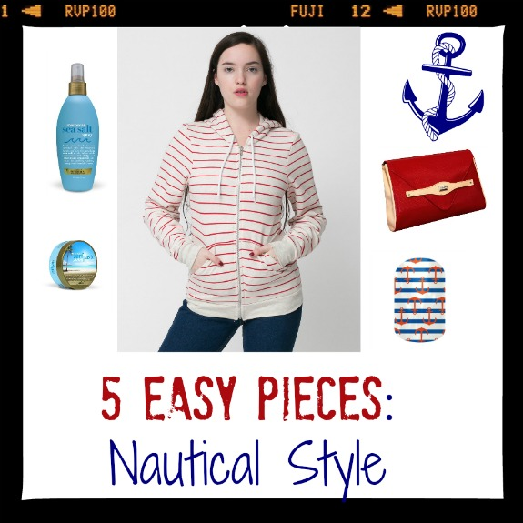 Dames at Sea | Nautical Look in 5 Easy Pieces