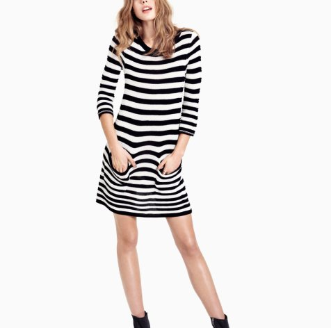 Fashion, Style, Fashion Photography, Fashion Trends, H&M striped dress, Stripes, Summer Dress, H&M