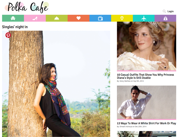 Style Over Coffee Press Coverage, Style Over Coffee, Press, Polka Cafe, Fashion Blogger, Fashion Style, Personal Style Blogger, Indian Blogger, Personal Blog,