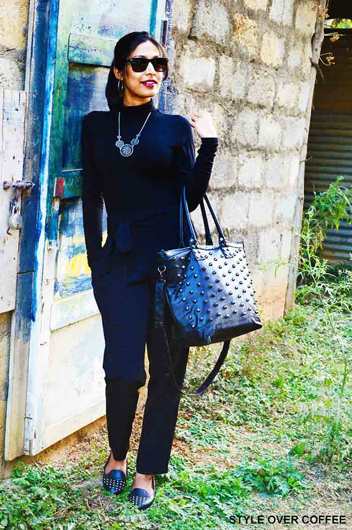 Fashion, Style, Fashion Photography, Street Fashion, Fashion Blogger, Casual wear, Indian Fashion Blogger, Fashion Inspiration, All black outfit,