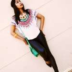 Fashion, Style, Fashion Photography, Fashion Blogger, Street Style, Outfit of the day, OOTD, Aztec Print, Mango Legging,