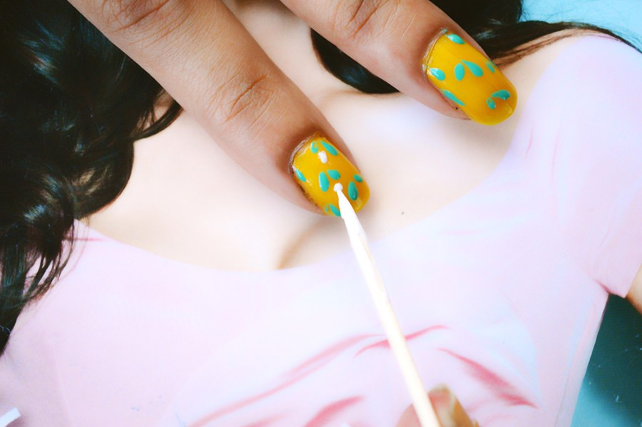 Nail Art, Beauty, DIY Fashion, Fashion, Fashion Bloggers, Style, Indian Fashion Blogger, Beauty Blogger, Spring Nail Art-3