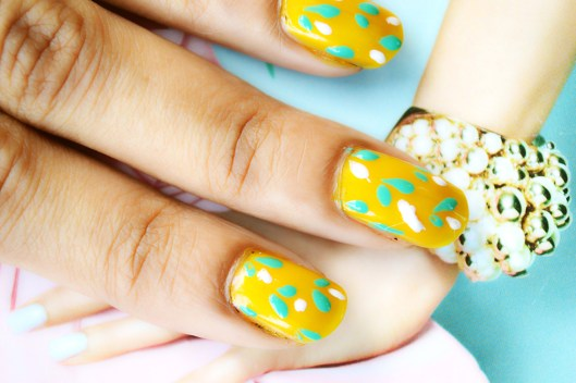 Nail Art, Beauty, DIY Fashion, Fashion, Fashion Bloggers, Style, Indian Fashion Blogger, Beauty Blogger, Spring Nail Art-6