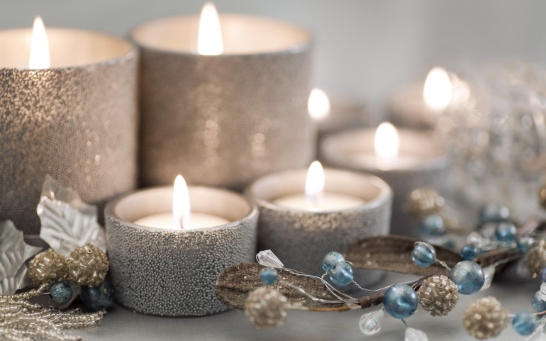 Christmas Wish list, Candles, Festive Candles, Glitter Candles, fashion, Style, Product Photography