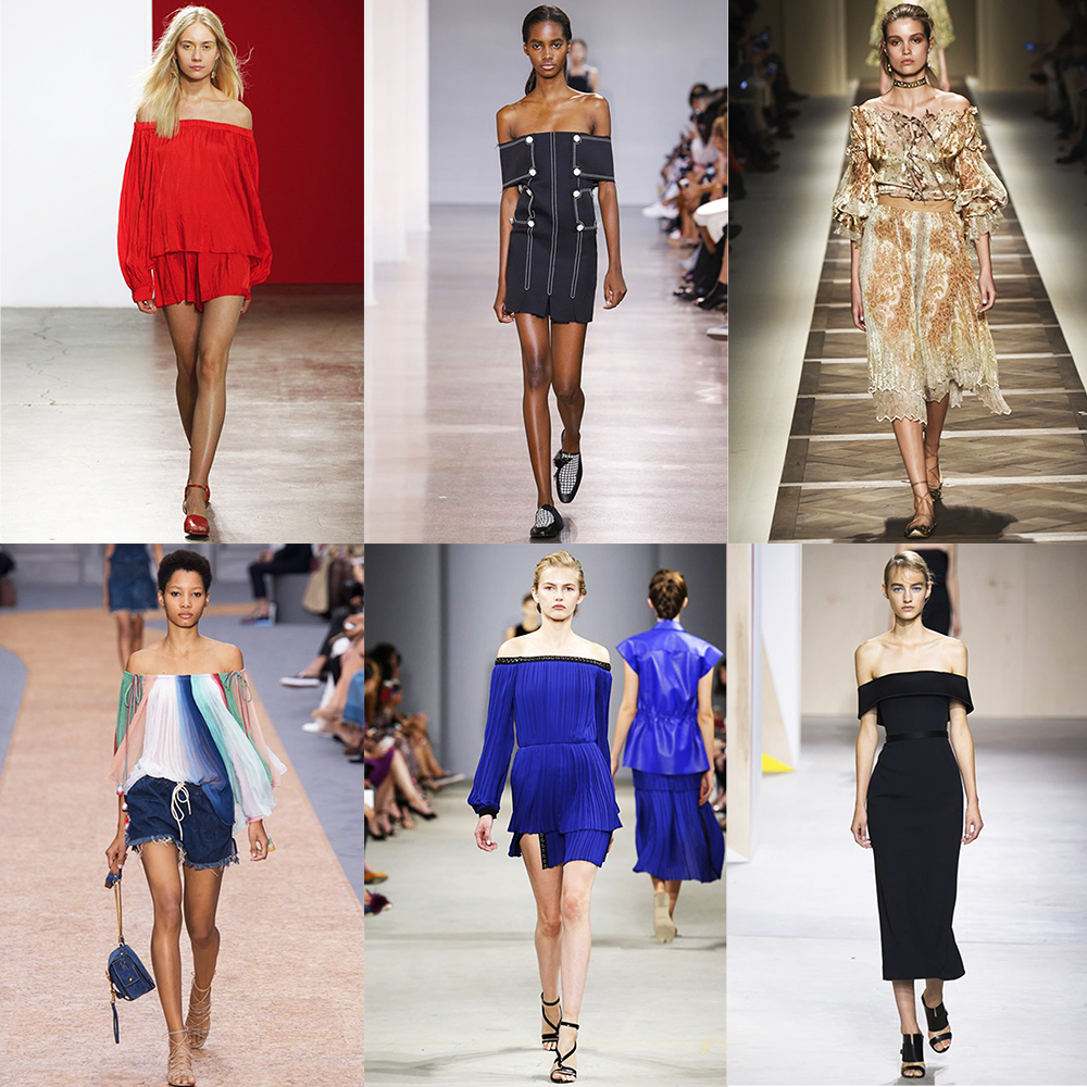 Fashion, Style, Indian Fashion Blogger, Style over coffee, Fashion trends, Runway Fashion Trends, Spring Summer 2016, Summer Fashion 2016, Spring Summer 2016 Fashion trends, Vogue UK, Badot top trend for summer 2016, Off shouldred fashion trend for spring summer 2016