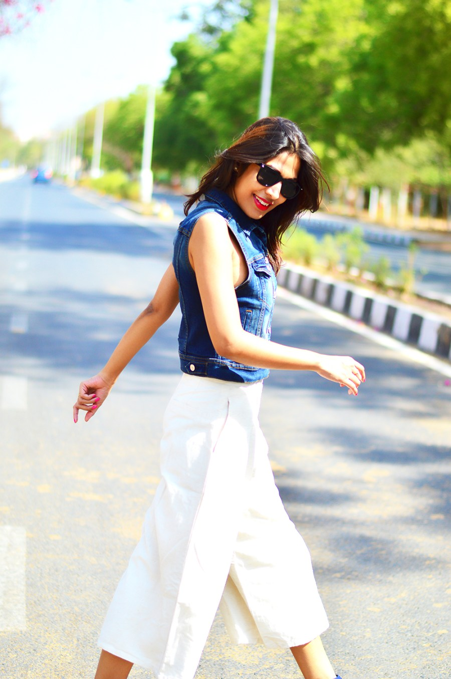 Fashion, Style, Fashion Blogger, Indian Fashion Blogger, Photography, Fashion Blog, Indian Fashion Blog, Street Style, Denim Vest, Culottes