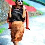 fashion, style, street style, street fashion, sarmistha goswami, style over coffee, pankaj jyoti barua, fashion blogger, indian fashion blogger, summer fashion, indian street style photography, fringe skirt, corduroy jacket, striped tee, lenskart sunglasses-4