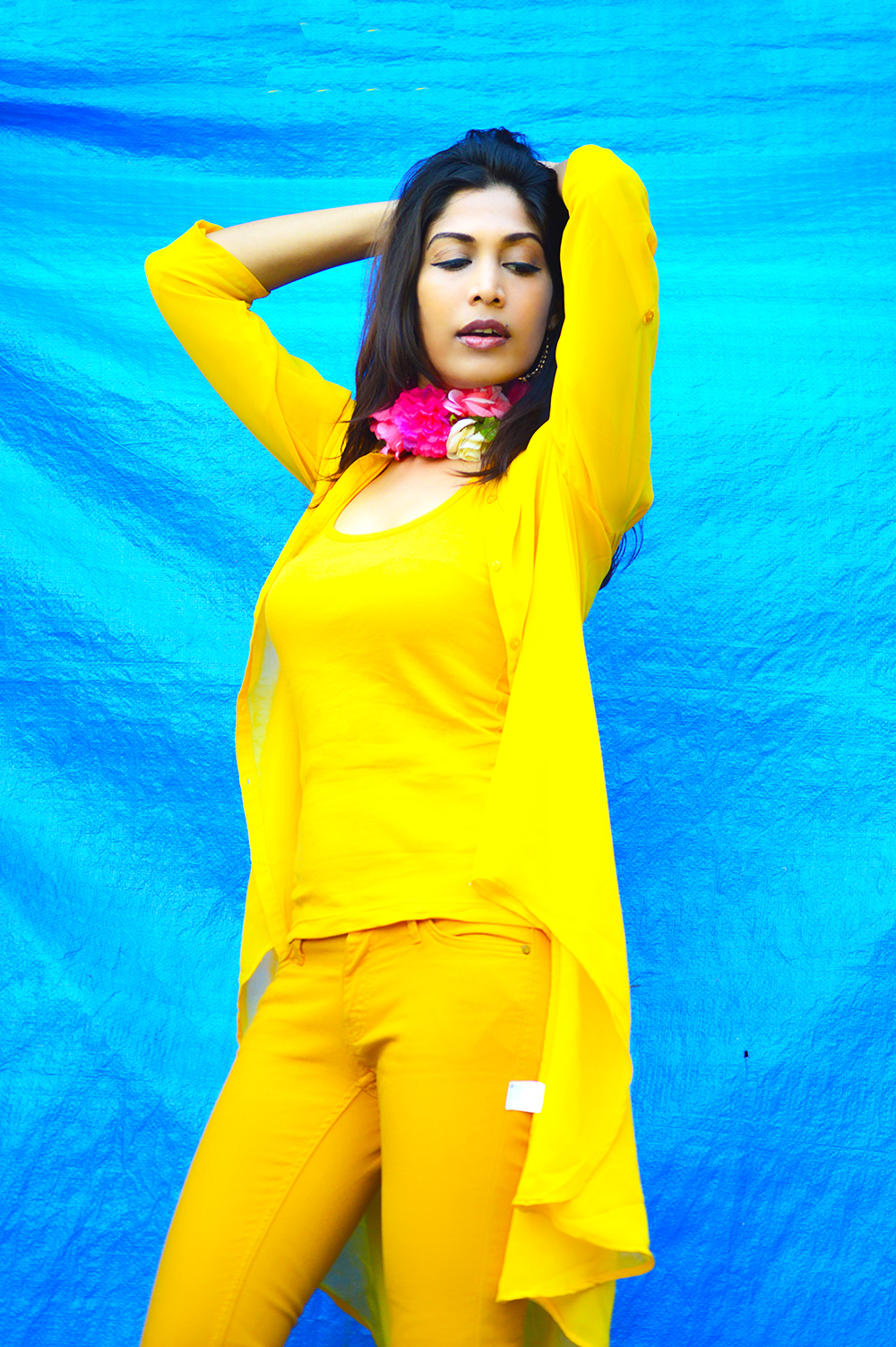 Fashion, Style, Street Style, Fashion Photography, Summer Fashion, Indian Fashion Blogger, Fashion Blogger, Yellow Shrug, Yellow Outfit, Summer Colours, Style Over Coffee, Beauty-8