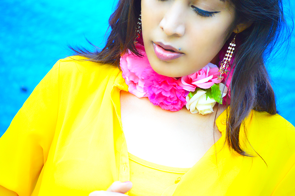Fashion, Style, Street Style, Fashion Photography, Summer Fashion, Indian Fashion Blogger, Fashion Blogger, Yellow Shrug, Yellow Outfit, Summer Colours, Style Over Coffee, Beauty-7