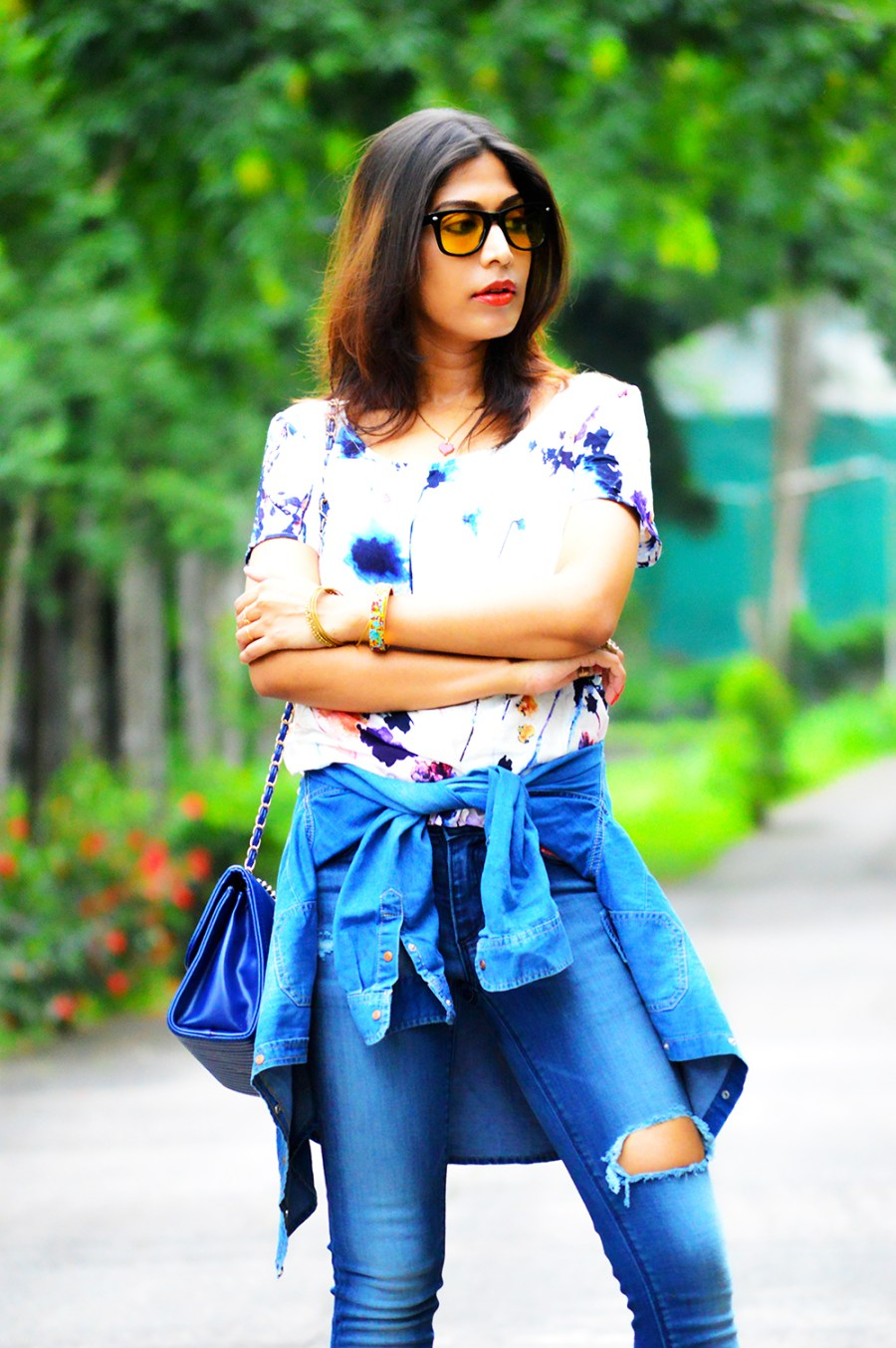Fashion, Style, Photography, Street Style, Fashion Photography, Denim, Only Top, New look Denim Shirt, Casual Wear, Street Style Photography, Denim Style-4