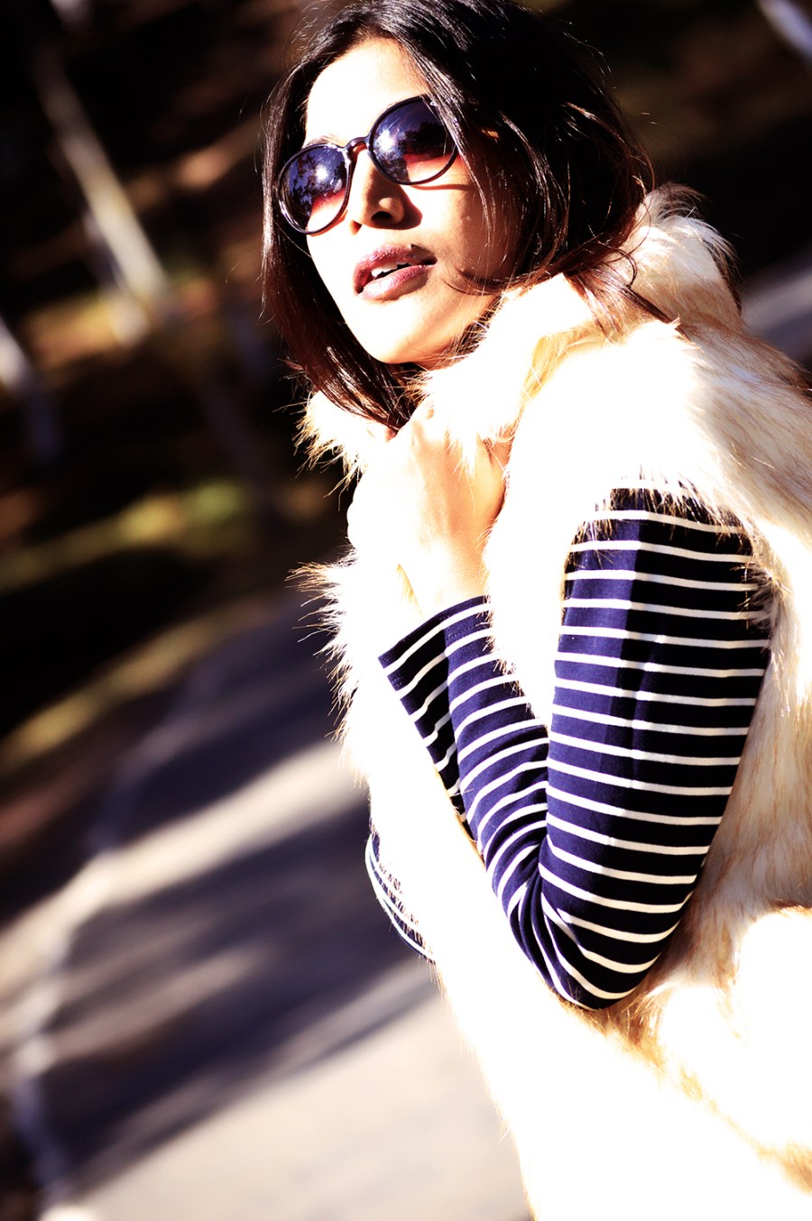 Fashion, Style, Winter Fashion, Street Style, Shillong, Fur, Faux Fur Vest, Photography, Travel-7