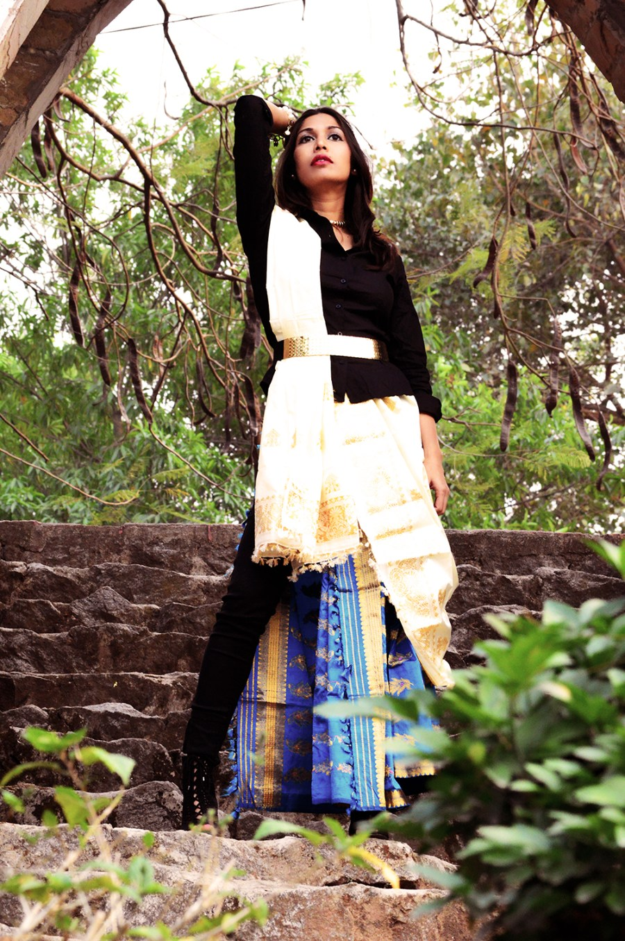 Indian attire, Fashion, Style, Photography, Fashion Blogger, Festive Outfit-2