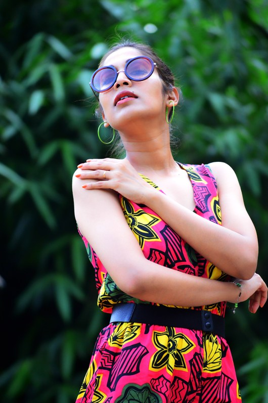 Tropical, Fashion, Printed Jumpsuit, Style, Beauty, Photography, Personal Style, Indian Fashion Blogger- 7