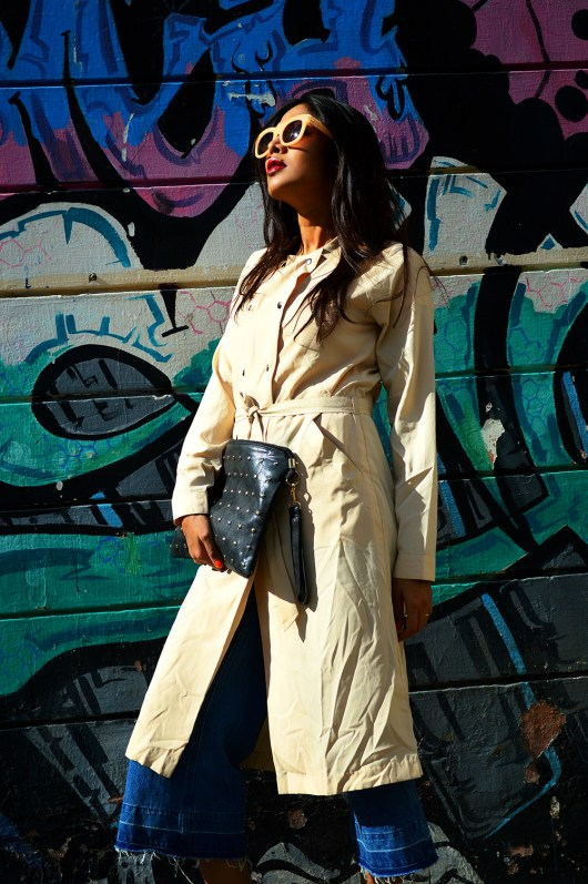 Blogger, fashion, Style, Fashion Blogger, Street Style, OOTD, Photography, Trench Coat, Denim, Culottes-2