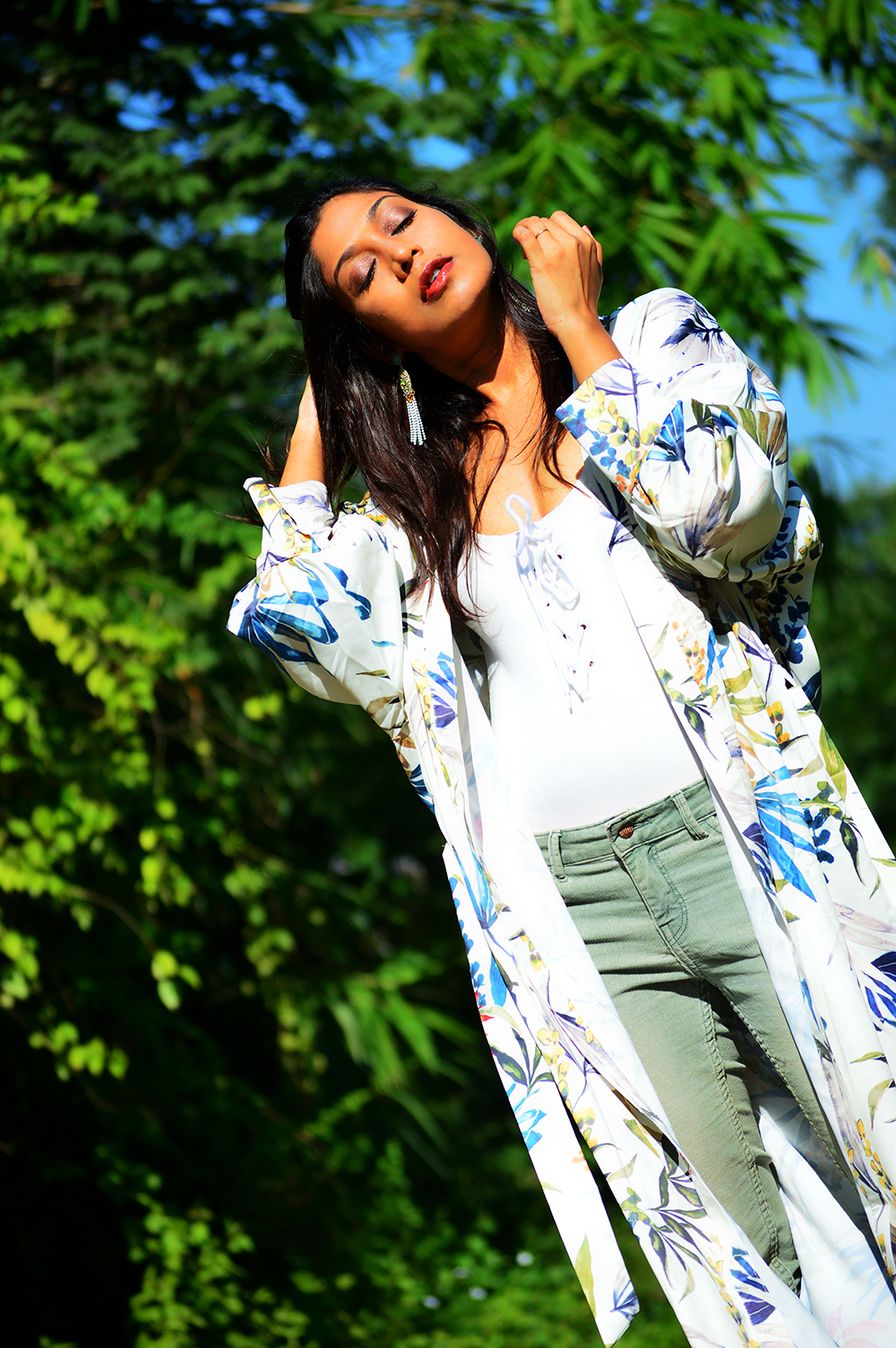 fashion, style, beauty, kimono, floral kimono, fashion blogger, street style, photography, Indian blogger-3