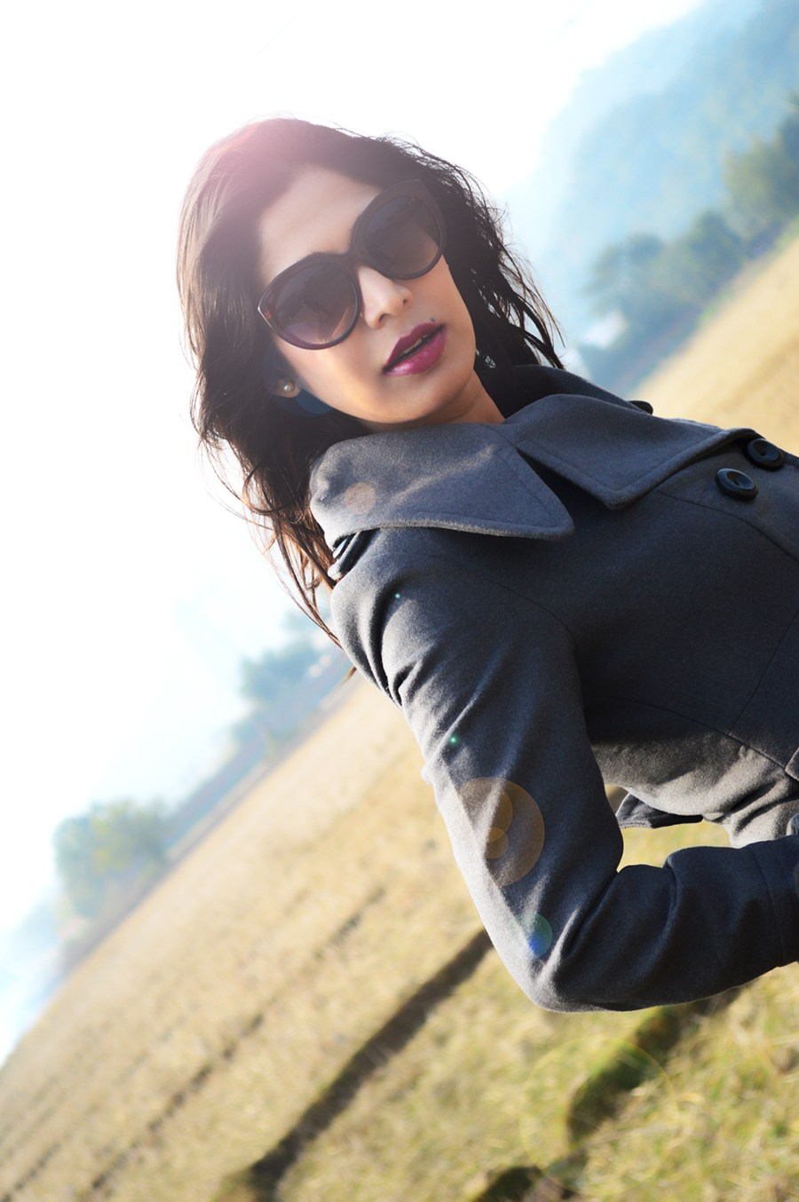 Grey Outfit, Fashion, Style, Indian Fashion Blogger, Street Style, Photography, OOTD, Beauty-4