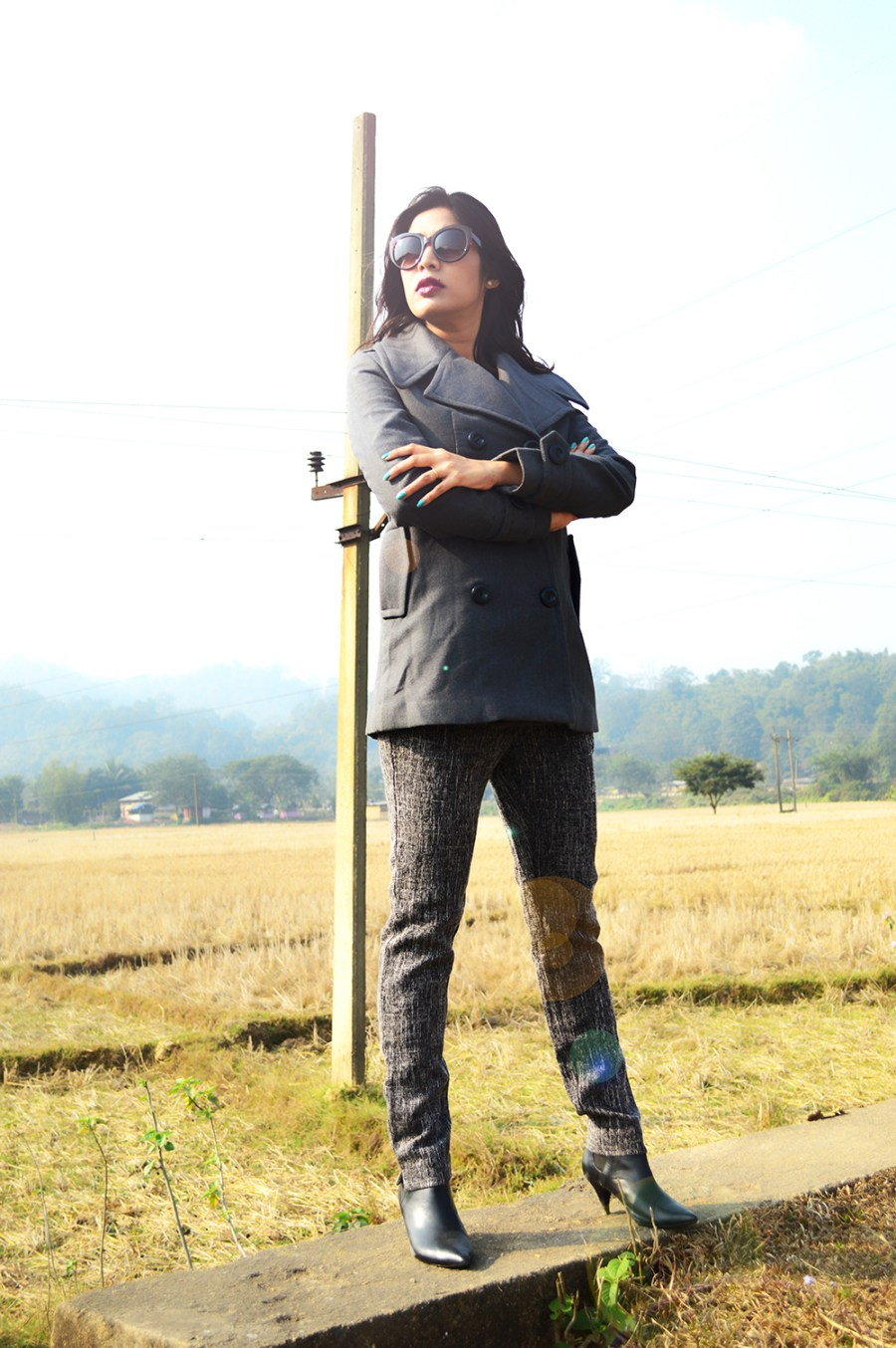 Grey Outfit, Fashion, Style, Indian Fashion Blogger, Street Style, Photography, OOTD, Beauty-3