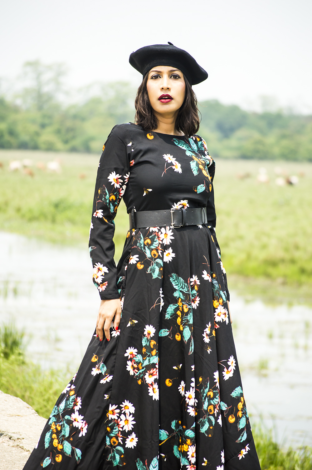 Floral Dresses, Fashion, Style, Fashion Blogger, Maxi Dress, Street Style-2