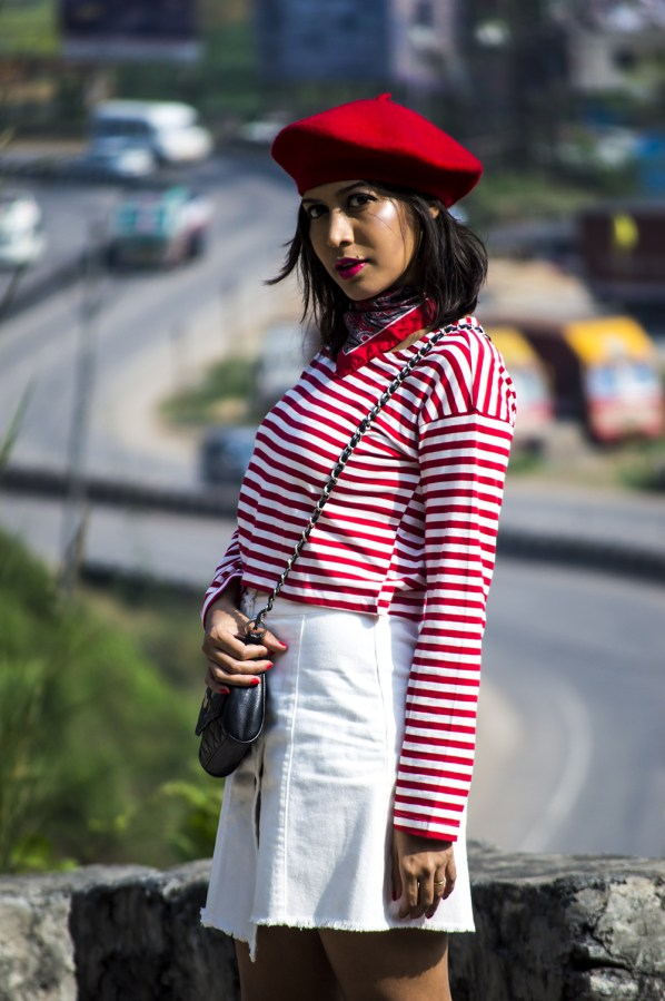 Fashion, Style, Indian Fashion Blogger, Beauty, Beret, French Style-6