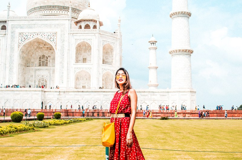 Style Over Coffee, Taj Mahal, Travel, India, Fashion Blogger, Influencer, Ethnic Dress, Sarmistha Goswami, Indian Blogger, Agra-3