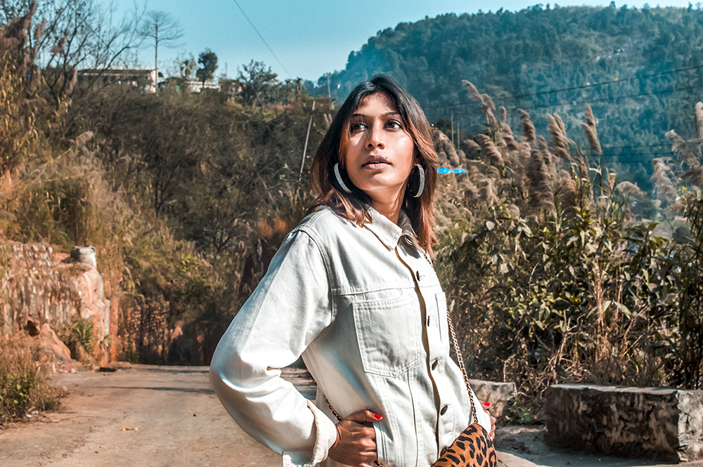 White Denim Jacket, How to style, Fashion Blogger, Style Tips, Survive COVID-19 lockdown, street style, Indian Influencer-3