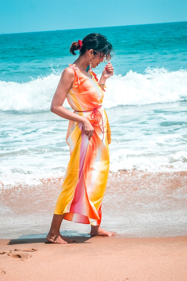 spring 2020, maxi dress, summer style, beachwear, fashion influencer, Indian fashion blogger-5