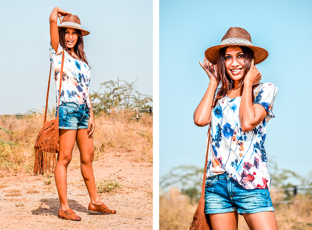 Ways to Wear Denim Shorts in Summer, Denim Shorts, Summer Outfits, Fashion Influencer, Style Blogger, Casual Looks-11