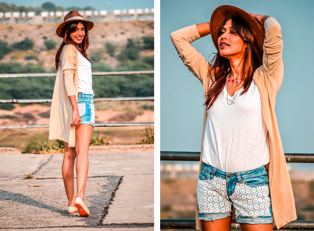Ways to Wear Denim Shorts in Summer, Denim Shorts, Summer Outfits, Fashion Influencer, Style Blogger, Casual Looks-15