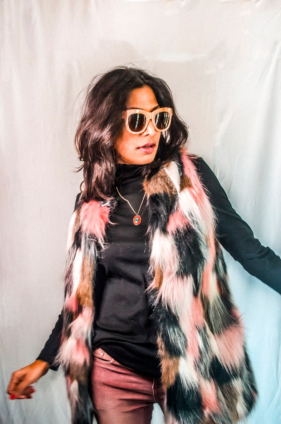 Faux Fur and Corduroy, Winter Style, Indian Fashion Influencer, Style Blogger, Fashion Blogger, SheIn Brand-3