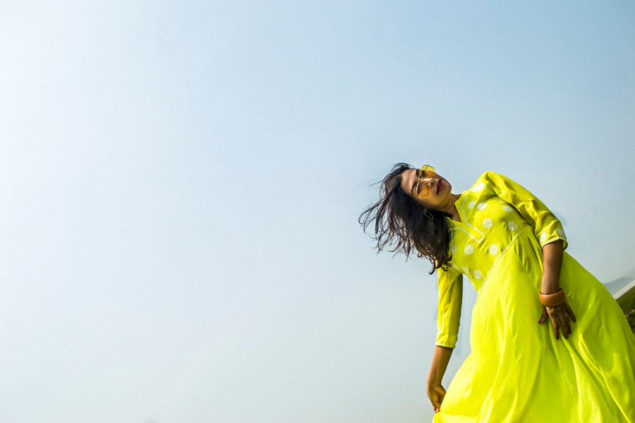 Spring style, Indian Wear, neon color, neon green, Indian outfit, Indian Blogger, Fashion, Style, Indian Fashion Blogger-4