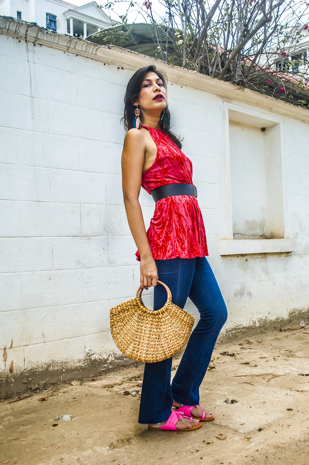 Bootcut Jeans, Fashion Blogger, Indian Influencer, Street Style, Summer Fashion-3