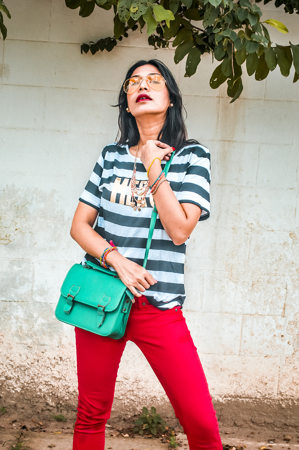 Everyday Look, Indian Fashion Influencer, Indian Blogger, fashion expert, red denim-2