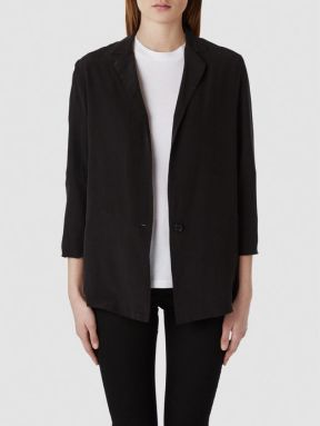 Selected Femme Silk - Blazer black