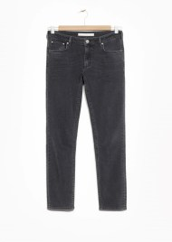 &Other Stories Cropped Skinny Jeans dark grey