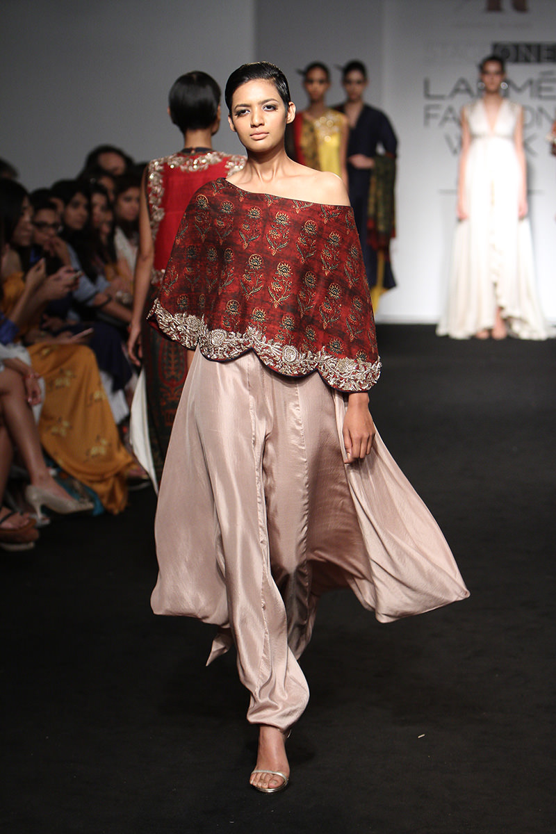 Frills and thrills by Jayanti Reddy. PC- vogue.in