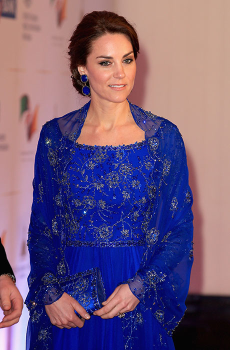 Kate Middleton adorning Jewels by Indian Designer, Amrapali.  PC-tomandlorenzo.com