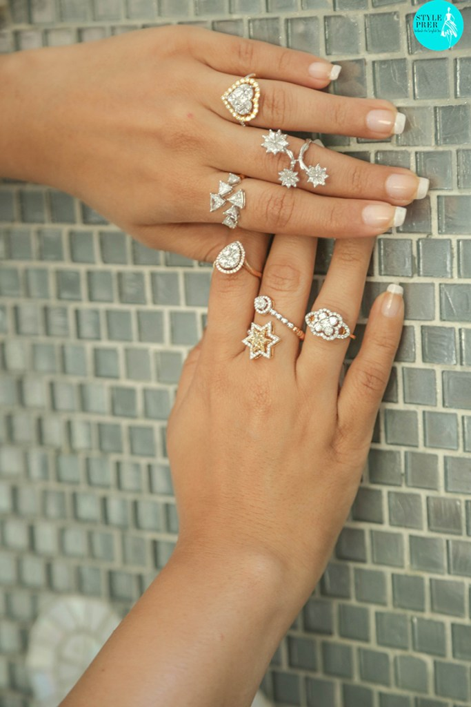 Composite Set Diamond Rings For A Solitaire Look