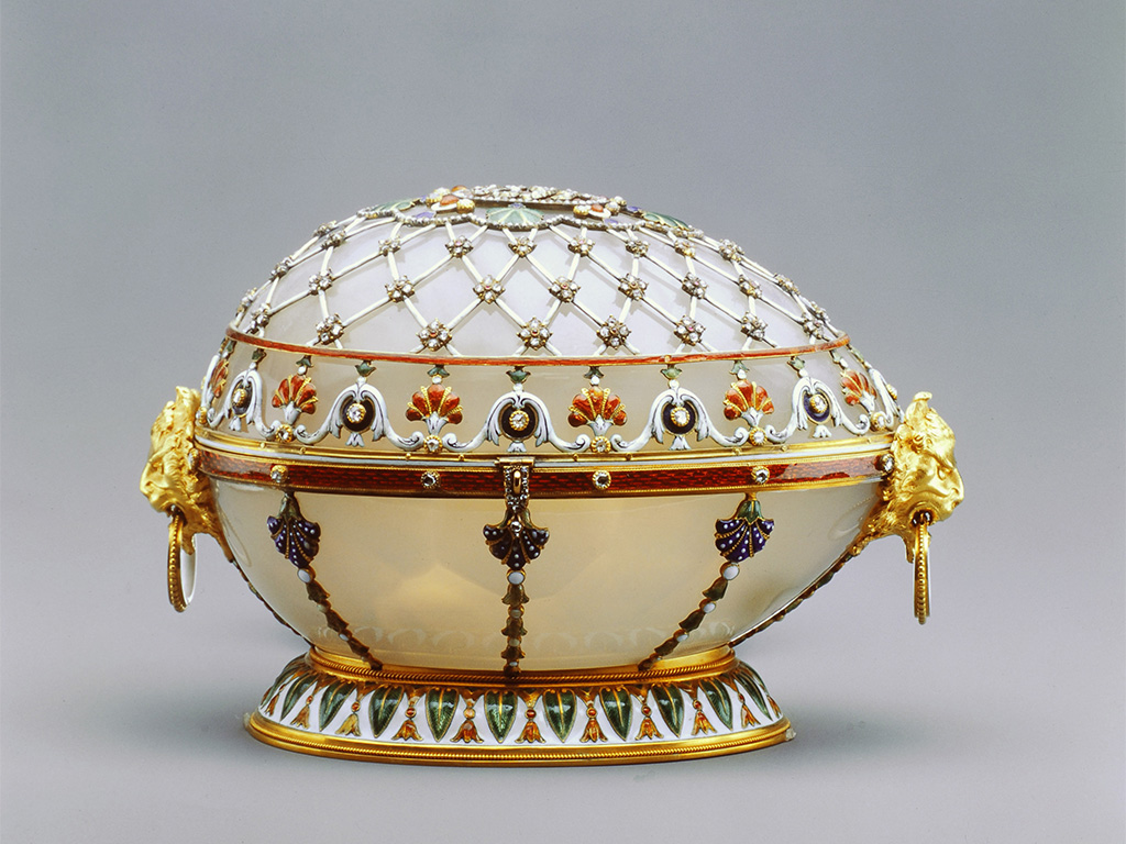 Fabergé Renaissance Egg 1894 (Closed), Courtesy Of The Forbes Collection.