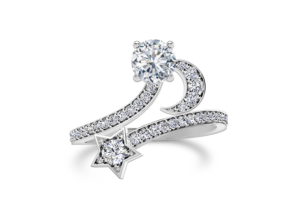 A Stary Diamond Ring By Forevermark From Artemis Collection