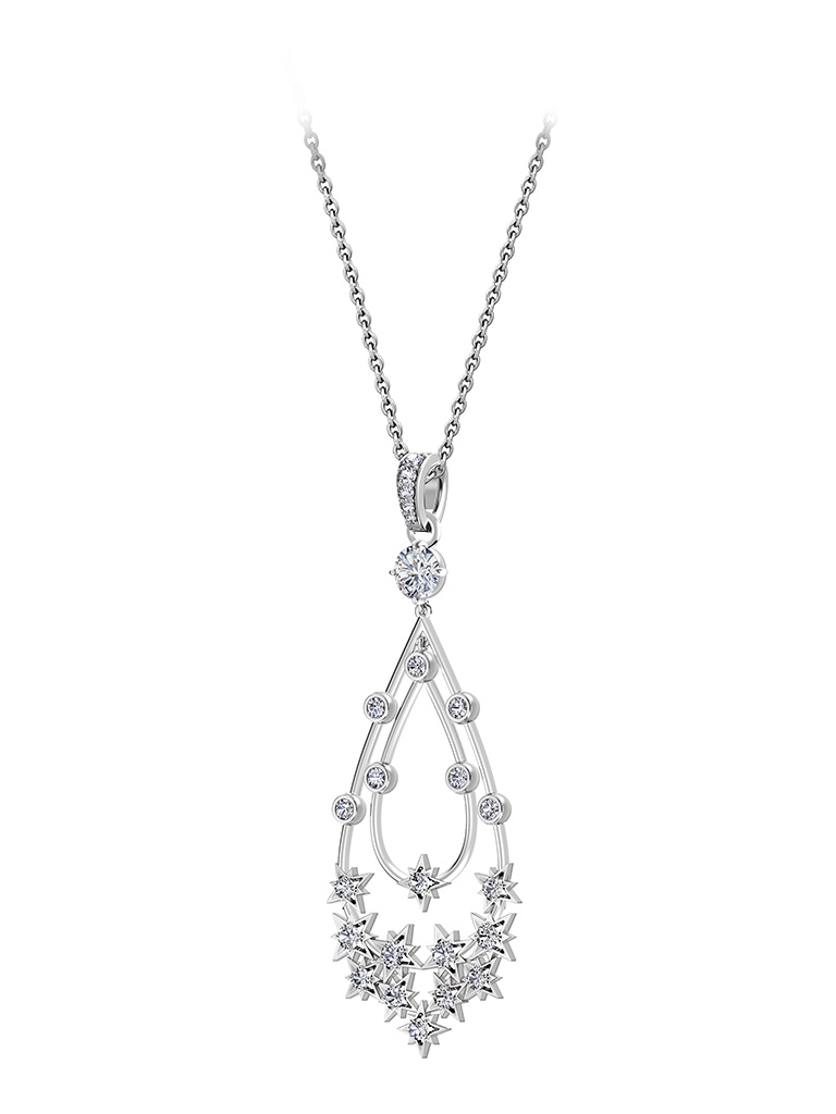Star Diamond Pendant From The Forevermark Artemis Collection