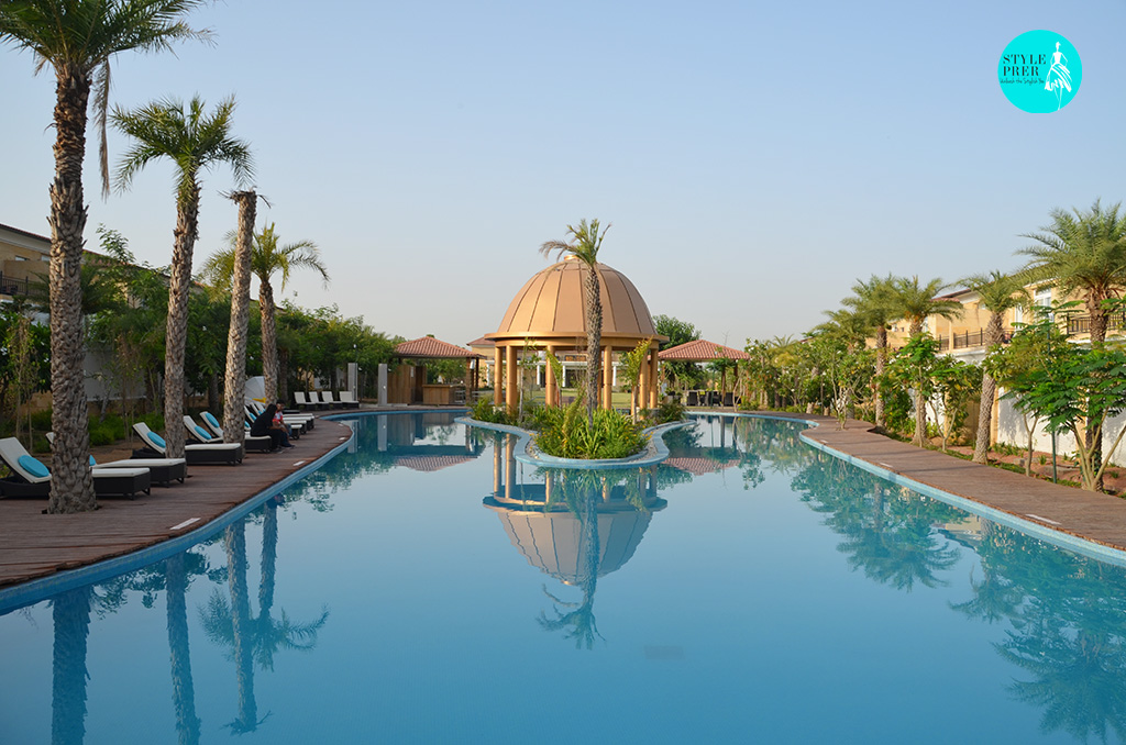 Mesmerizing Pool And Palm Trees At The Westin Pushkar Resort & Spa